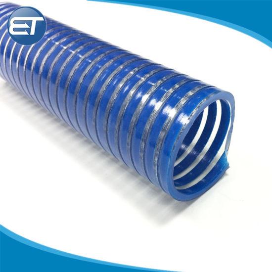 China suction tube pipe large plastic pvc winding