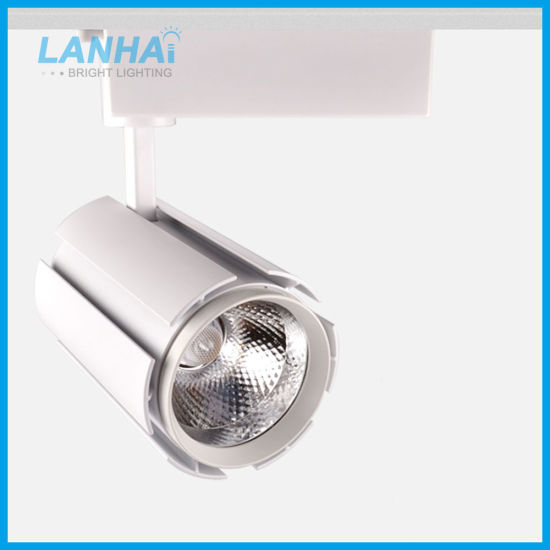 10W 20W 30W White Black Commercial Spot Light COB LED Track Rail Lamp pictures & photos
