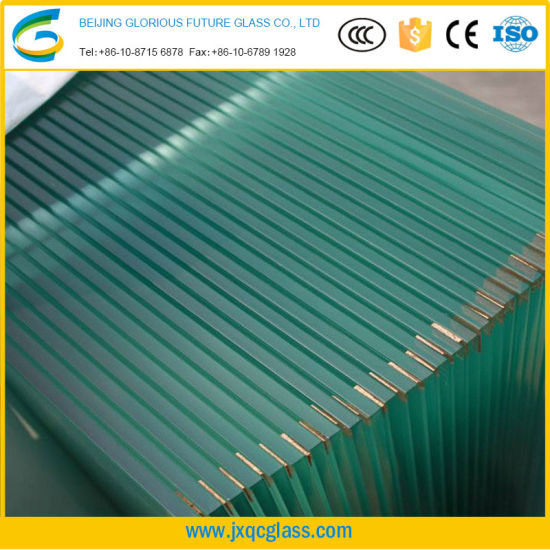 10mm-19mm Ultra Thick Ultra Large Low Iron Tempered Glass