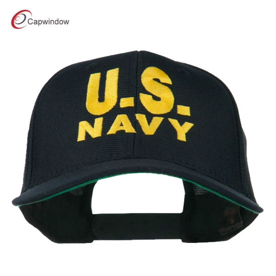 China Navy Us Navy Embroidered Military Cap (13012) - China
