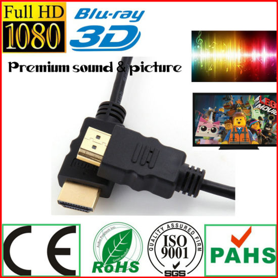 xBox360 PS3 HDMI to HDMI Cable for Game Player (HL-131) pictures & photos
