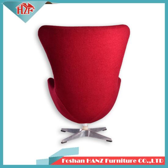 Modern Living Room Furniture Classic Designer Fabric Dining Egg Chair  sc 1 st  Foshan Hanz Furniture Co. Ltd. & China Modern Living Room Furniture Classic Designer Fabric Dining ...