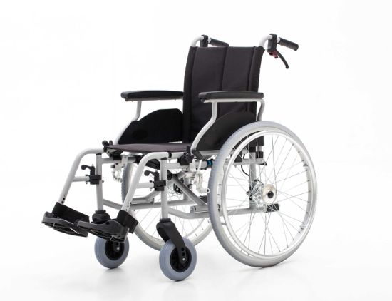 Aluminum, Drum Brake, Wheelchair (AL-001A)