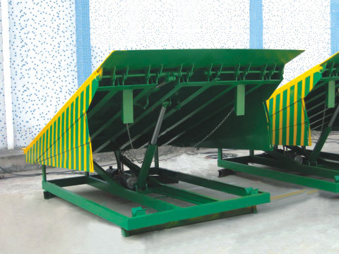 Stationary Dock Ramp, Container Dock Ramp with Certificates