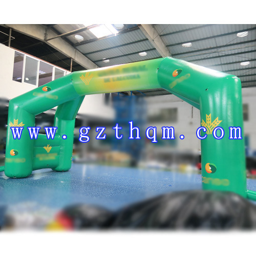Inflatable Finish Line Arch/Advertising Inflatable Entrance Start Finish Arch pictures & photos