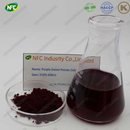 Factory Supply Natural Red Colorants Purple Sweet Potato Color Extract