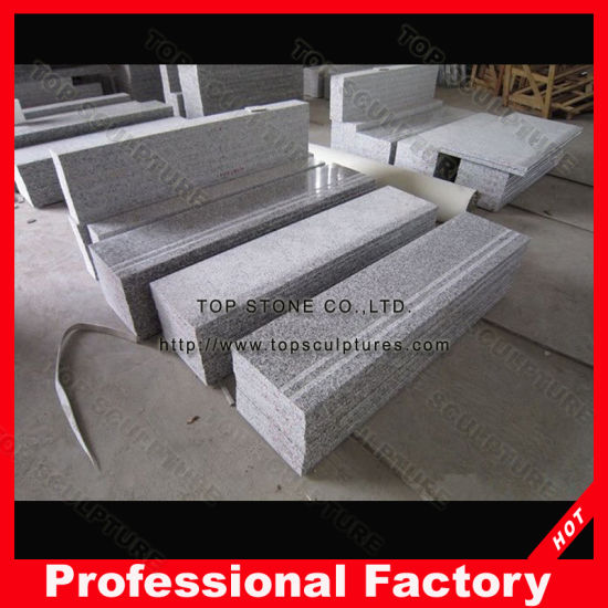 G603 Polished Outdoor/Indoor Stone Step Riser Granite Stair