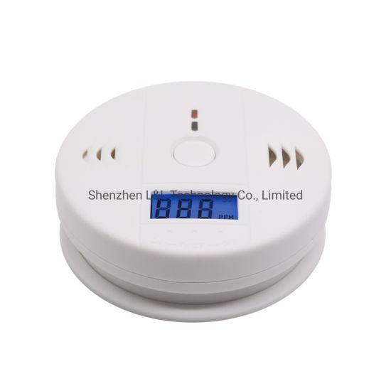 Carbon Monoxide Detector White Co Alarm for Home