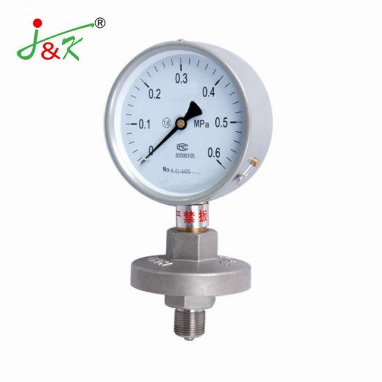 Good Price Diaphragm-Seal Pressure Gauge