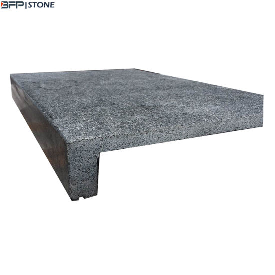 Customzied Design Natural Granite Flamed Anti-Slippery Swimming Pool Coping