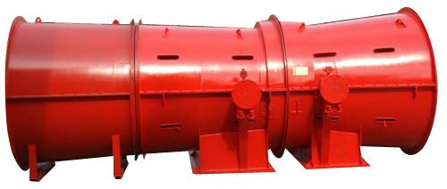 OEM Low Price 380V AC Fan Blower 480-831m3/Min Industrial Axial Fan Mine Fan