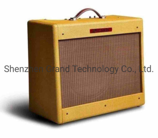 Tweed Deluxe 5e3 Oxblood Electric Guitar Amplifier Combo 20W