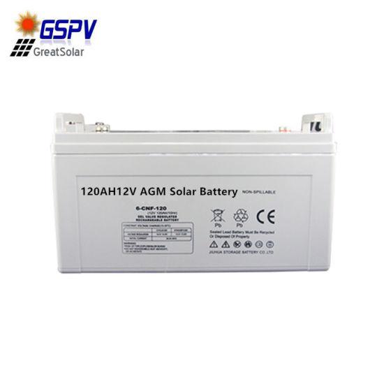 12V120ah AGM Solar Battery for Solar System
