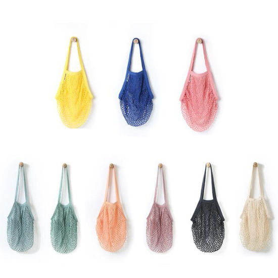 Eco Friendly Fruit Vegetable Cotton Shopping String Net Bags