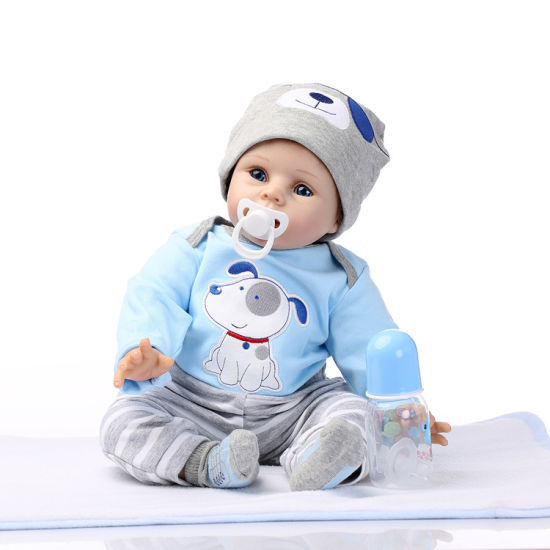 55cm Bebe Reborn Doll Soft Silicone Girl Toy Reborn Baby Doll Gift Soft Vinyi Newborn Boy Doll Toys pictures & photos
