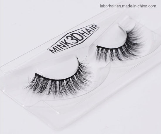 9d512e33641 Labor Mink Eyelashes 3D Mink Lashes Handmade for Beauty pictures & photos