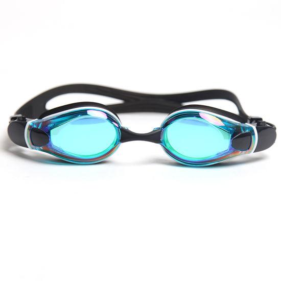 Integrated Colorful Silicone Frameless Fashion Anti Fog Swimming Goggles