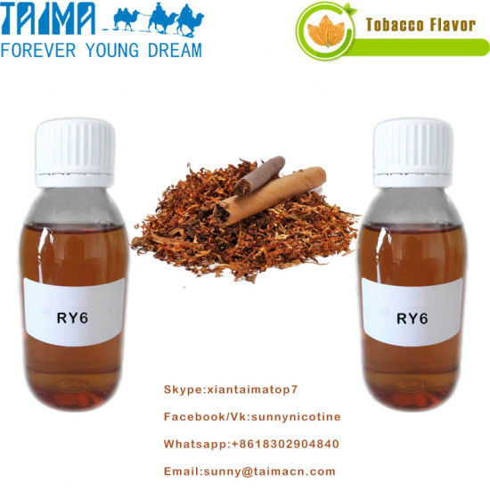 Hot Selling Pg Based Top Quality Ry6 Tobacco Flavor for Vape