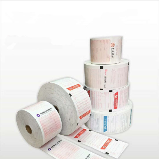ATM Paper Roll Bank Receipt Paper Roll Thermal Paper Roll 80mm*100mm Customized Size Available