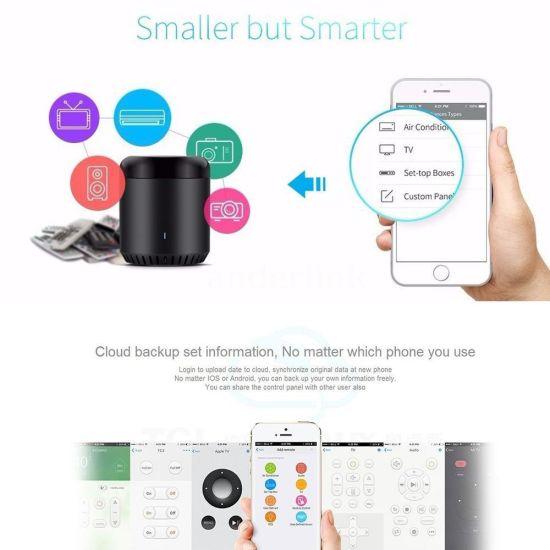 Broadlink Smart Home Original Rmmini3 WiFi+IR+4G Remote Control APP Control  UK Plug Wireless Controller Work for Alexa Google Home