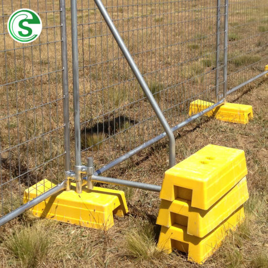 Hot Sale Wire Mesh Removable Base Temporary Metal Fence