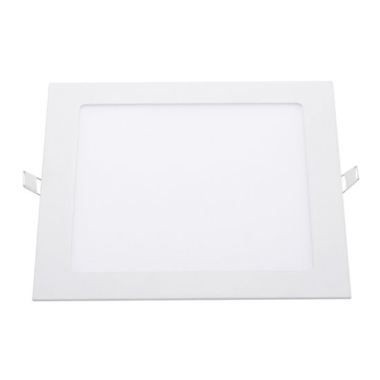 Super Thin IP44 Square Recessed Embedded Housing 18 Watt Surface Lamp Price Ultra Slim Panel Light 18W Downlight LED