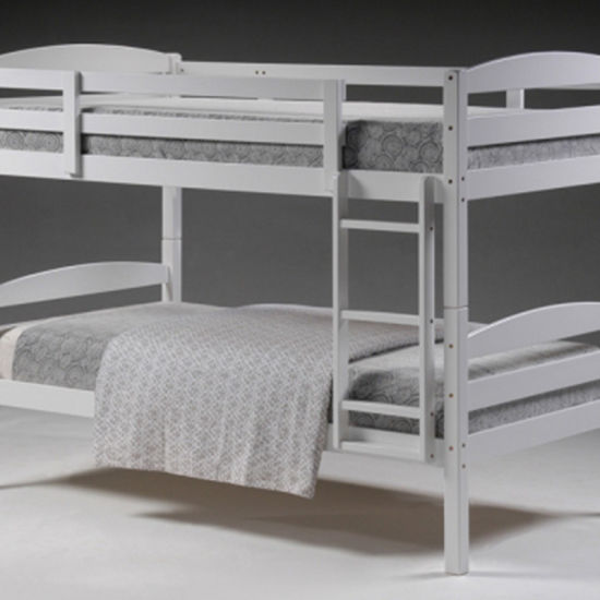 Bedroom Furniture Wooden Single Children Kids Bunk Bed with Slide
