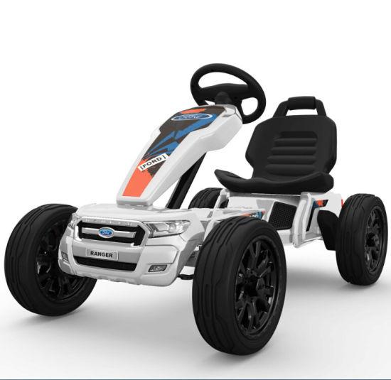 Ford Ranger Licensed 12V Kids Electric Go Kart, Toy Car