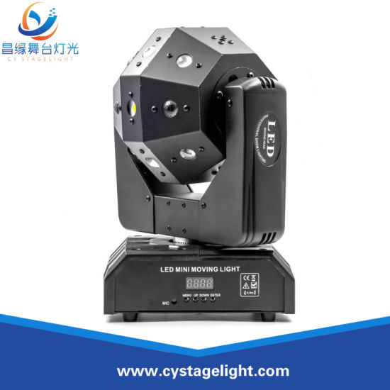 LED 16X3w Strobe Laser Beam Moving Head Light for Disco