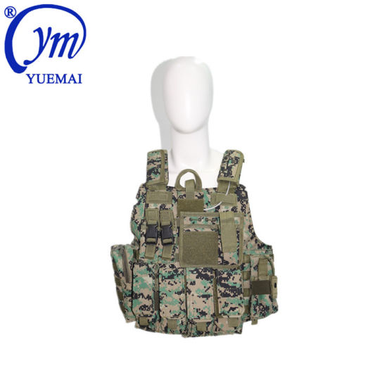 Custom Airsoft Assault Combat Bulletproof Police Army Military Tactical Vest