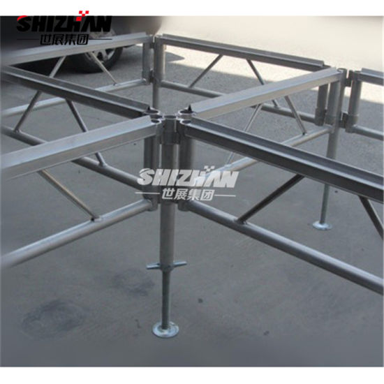Outdoor Concert Use Assemble Stage with Adjustable Height