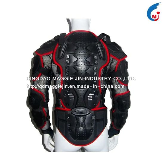 Motorcycle Black Body Armor Removable Jacket /Motorcycle Projector pictures & photos