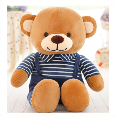 High Quality Seating Bear with Cloth Plush Stuffed Toy