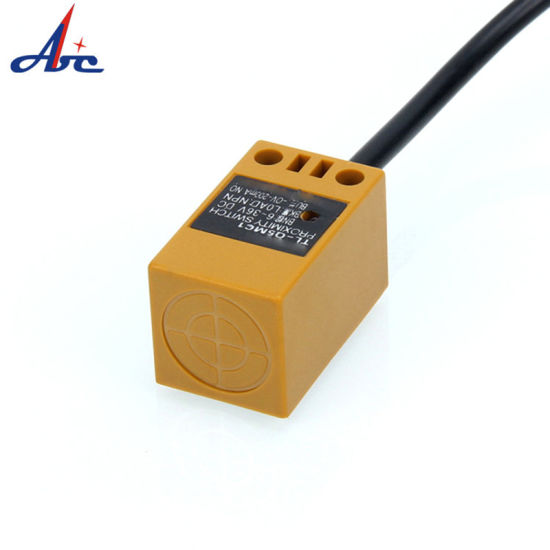 Square Screen Shield AC or DC No/Nc 5mm Detection Distance Proximity Switch