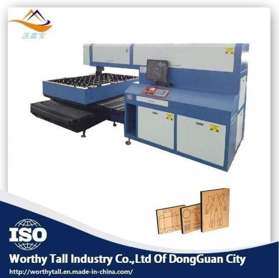 Shenzheng Die Board Laser Cutting Machine / Wood Laser Cutter Price