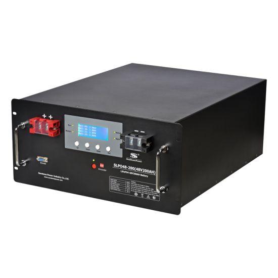 24V 100ah Solar Battery Telecom Battery LiFePO4 Battery BMS Bank and LCD Display Lithium Battery