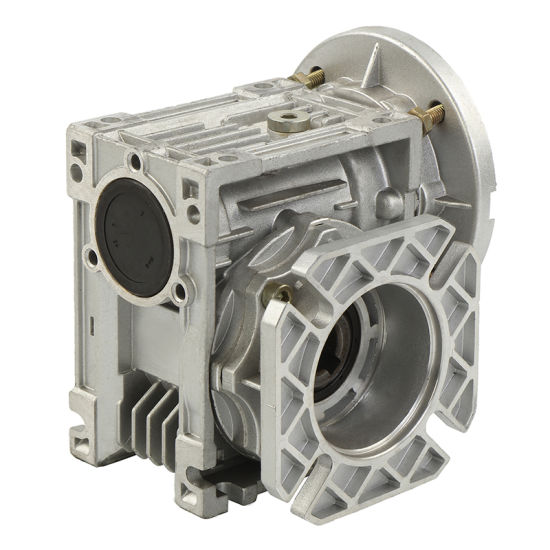 Small 90 Degree Worm Gearbox Mechanical Transmission with Output Flange