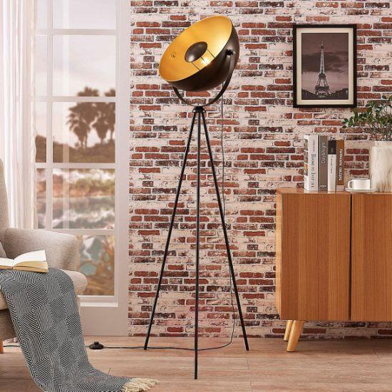 Art Style Photostudio Vintage Tripod Modern Floor Lamp Standing Lighting with Living Room