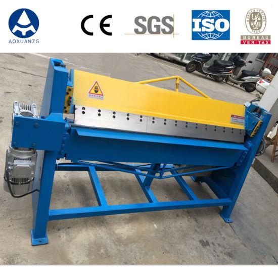 Dws-1.5*2500 Aluminium Sheet Edge Electric Bending Folding Machine