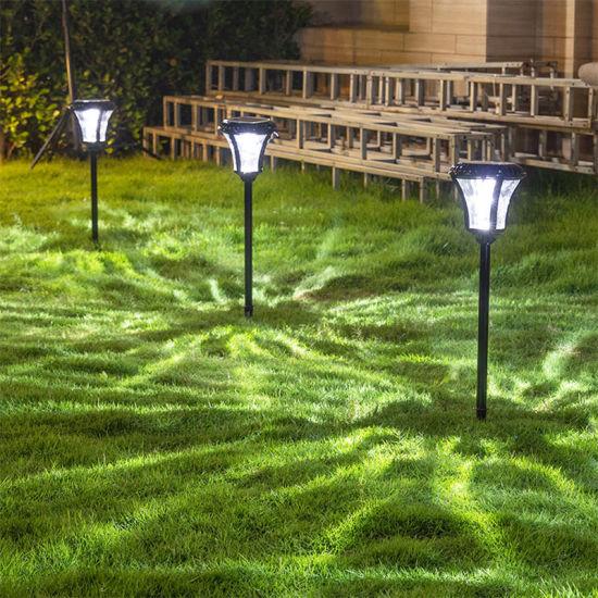 Aluminum Outdoor Lighting Waterproof Garden Light Solar Floor Lawn Lights
