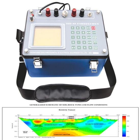 Underground Water Detector, Ground Water Detector, Ground Water Detection, Dzd-6A Resistivity Meters for Ground Water Exploration, Geophysical Resistivity Meter