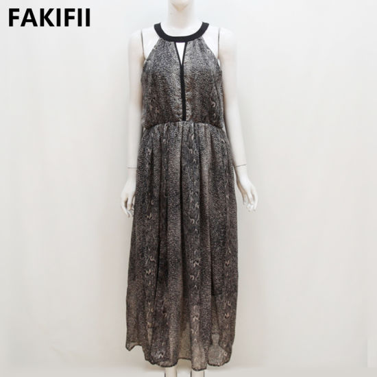 Fakifii Factory Wholesale 2021 Summer Holiday Women Party Wear Dress Ladies Dress Women Sexy Elegant Dress pictures & photos