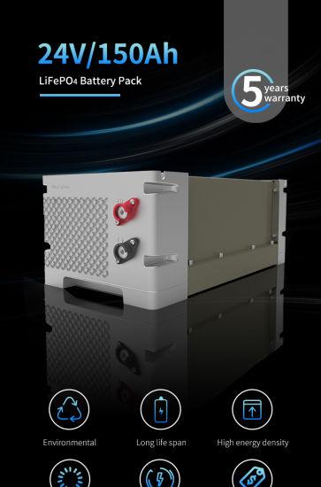 OEM 12V 24V 48V Factory Supply Long Life LiFePO4 Rechargeable Li-ion Storage LiFePO4 Battery Pack
