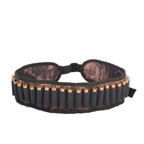 Tactical Rifle Gun Cartridge Bullet Shotgun Ammo Bag Waist Belt