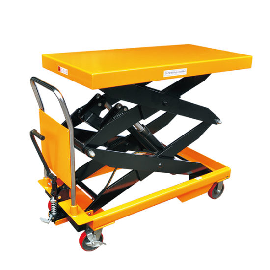 Manual Scissor Lift Table / Hydraulic Lift Table