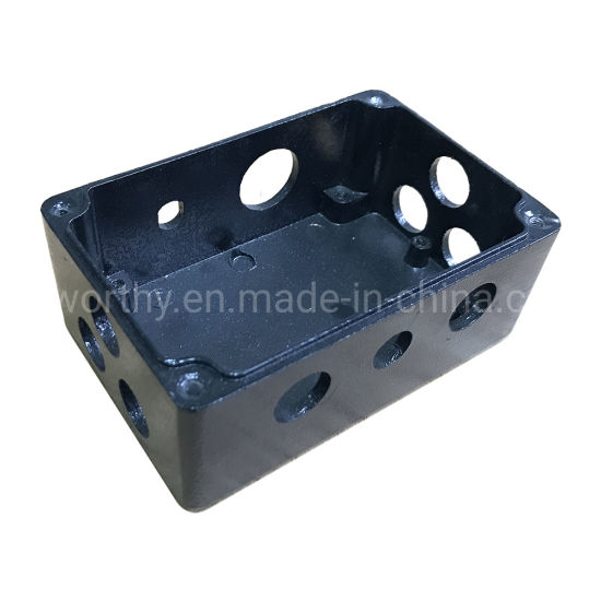 Black Powder Painting IP67 Waterproof Outdoor Aluminum Junction Enclosure