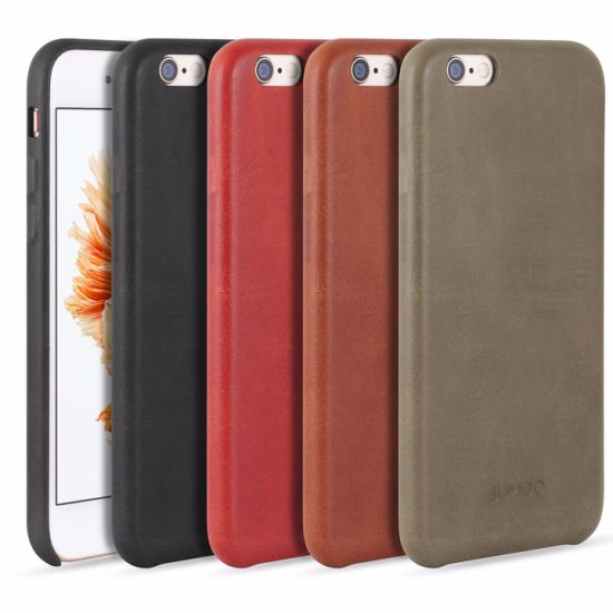 Luxury mobile Phone Cell Phone Leather Cowhide Case Cover pictures & photos