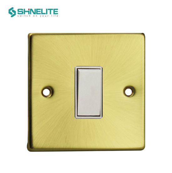 China Hot Sales 1 Gang 2 Way Electrical Switch with Ce