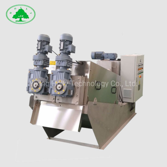 Package Sludge Dewatering for Waste Water Sewage Treatment