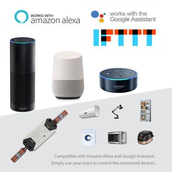 Timethinker Smart Home WiFi Switch DIY Wireless Power Universal Light  Switches Remote Control Work with Alexa Google Home Ifttt